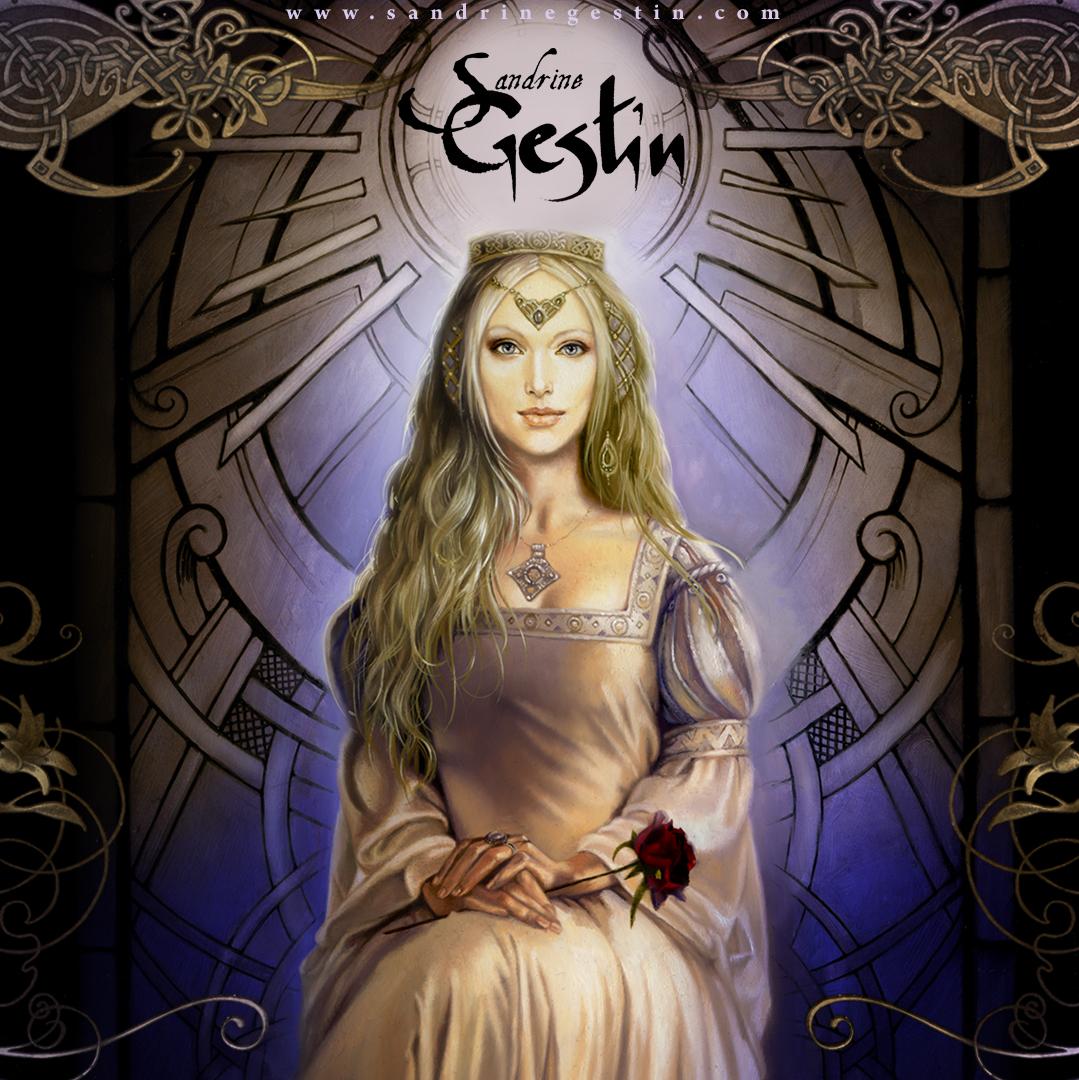 Sandrine Gestin ART  - Fées et Belles Dames   -   Fairy Fantasy -
