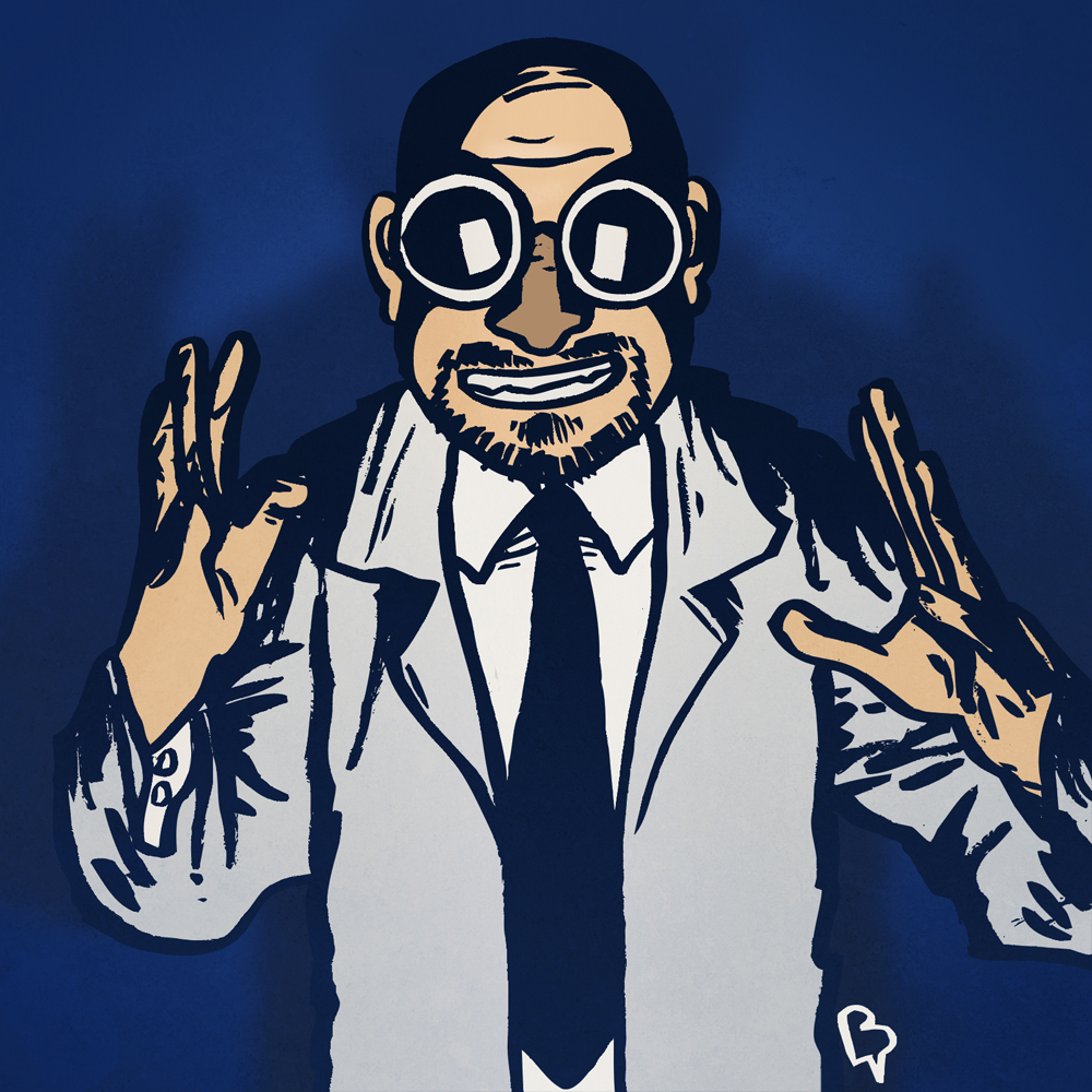 Professeur Sims