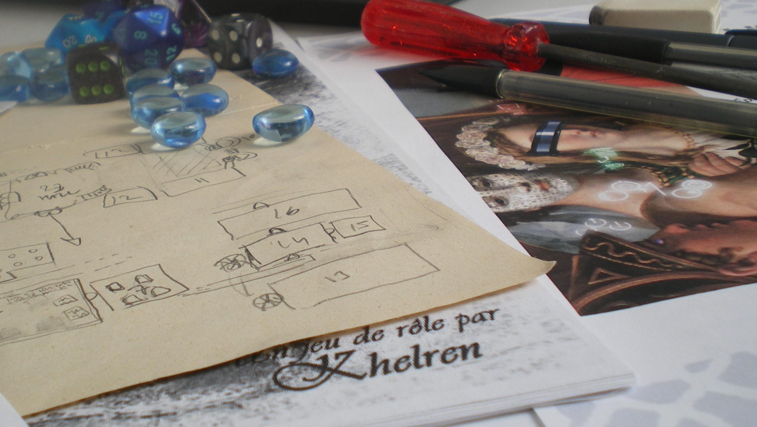 Khelren - auteur de jeux de rôle