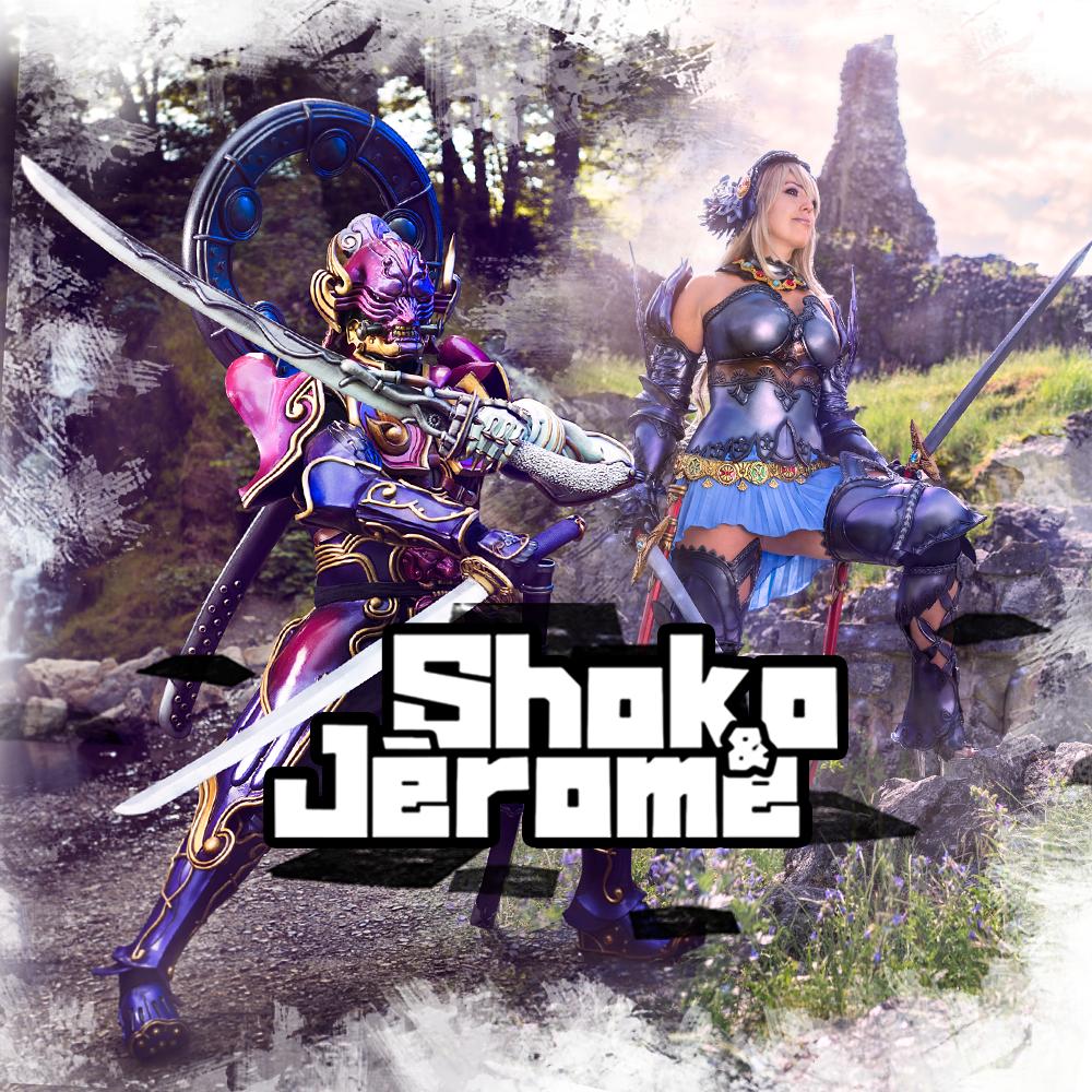 Shoko & Jerome Cosplay